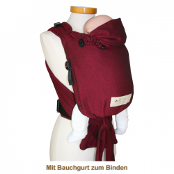 BabyCarrier bordeaux slim